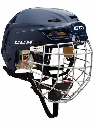 Casque Hockey CCM Tacks 110 Combo Navy Medium