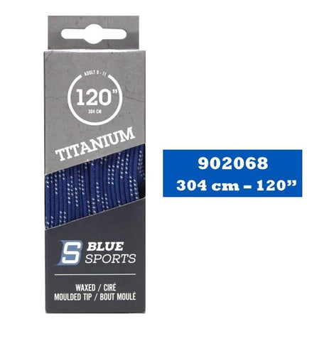 Lacets Hockey Titanium Royal Cirés 120''