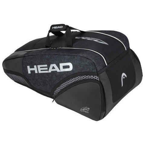 Head Djokovic 9R Supercombi Noir