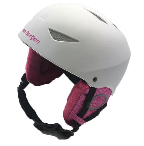 Casque Ski Van Bergen Blanc/Rose Jr S