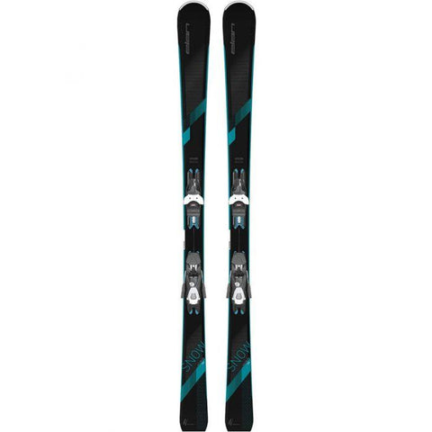 Skis Alpin Elan Snow Black LS 158cm