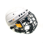 Casque Hockey Tek V3.0 Blanc XS