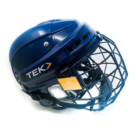 Casque Hockey Tek V3.0 Marine M