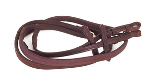 Heritage English Leather Rubber Covered Reins - 4Pony.com