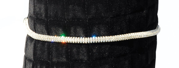 Heritage Diamante Chain Browband - 4Pony.com