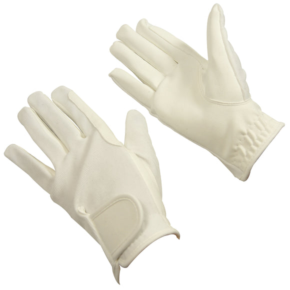 Bitz Synthetic Gloves Child White - Medium