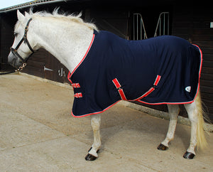 Rhinegold Smart-Tec Jersey Fleece Backed Cooler Rug - 4Pony.com