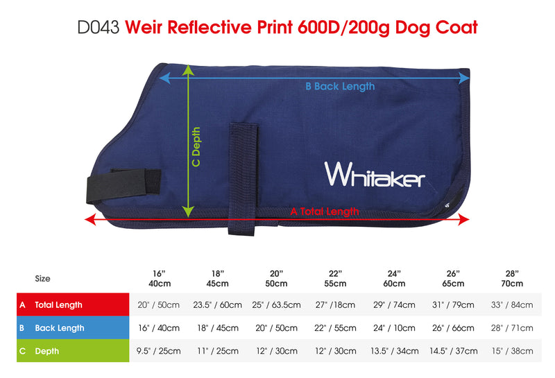 Whitaker Dog Coat Sydney