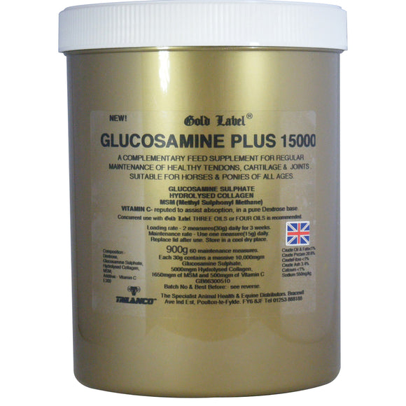 Gold Label Glucosamine Plus 15000
