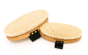 Equerry Goat Hair Body Brush - 4Pony.com