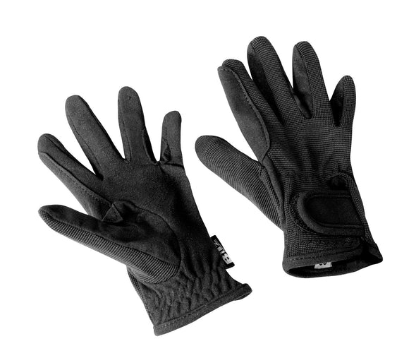 Bitz Riding Gloves Child Black - 4Pony.com