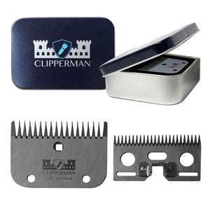 Clipperman CLA6 High Quality Steel Blade Set - 4Pony.com