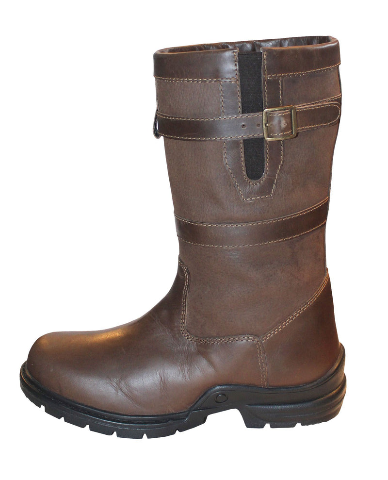 Mark Todd Short Country Boot Brown