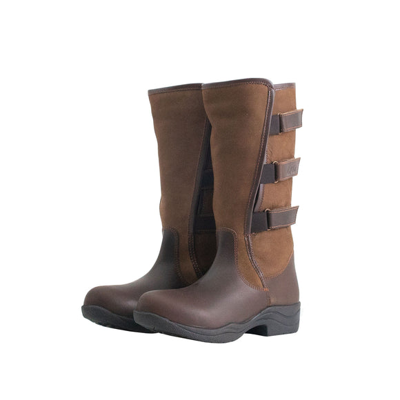 Mark Todd Adjustable Short Boot Brown