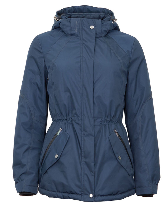Mark Todd Ladies Short Parker Jacket Navy