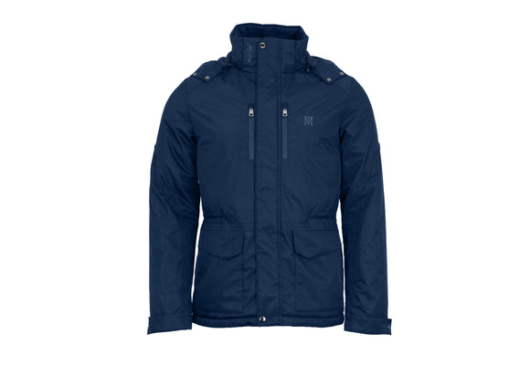 Mark Todd Mens Short Waterproof Jacket Navy