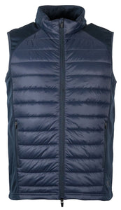 Mark Todd Unisex Quilted Gilet Navy