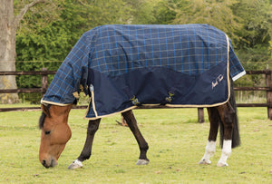 Mark Todd Lightweight Combo Turnout Rug Plaid