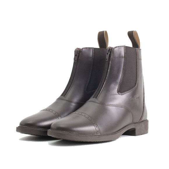Mark Todd Toddy Zip Jodhpur Boots Brown