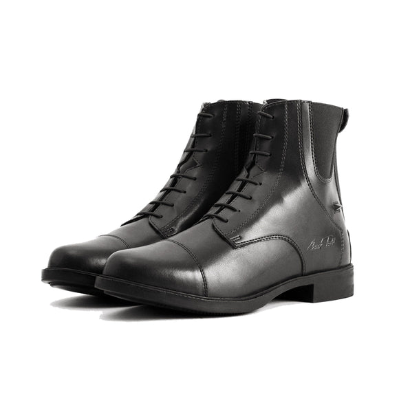 Mark Todd Synthetic Back Zip Jodhpur Boots