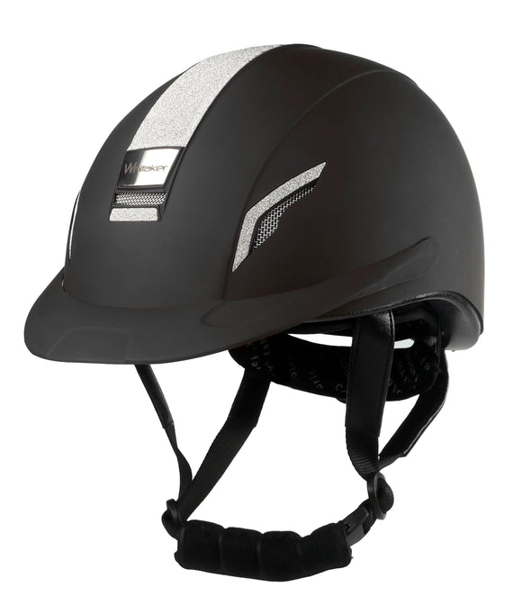 Whitaker VX2 Sparkly Riding Helmet Black - 4Pony.com