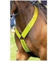 Equisafety Reflective Neck Band - Yellow - 4Pony.com