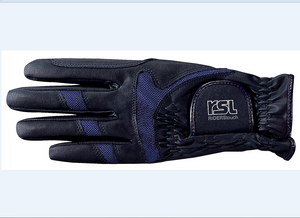 RSL Rotterdam Riding Glove - Navy - 4Pony.com