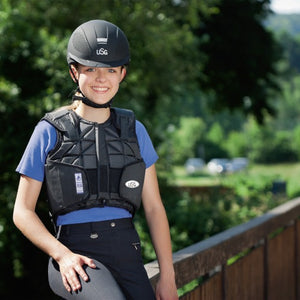 USG Childs Flexi Motion Body Protector Black - 4Pony.com