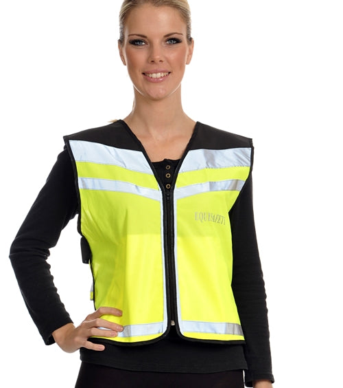 Equisafety Air Waistcoat - Please Pass Wide & Slow - 4Pony.com