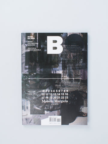 B MAGAZINE - Maison Margiela SOLD OUT