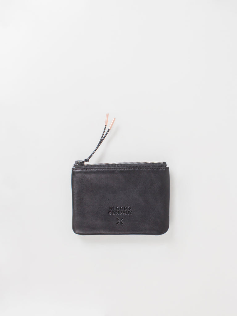 SMALL FLAT LEATHER PURSE