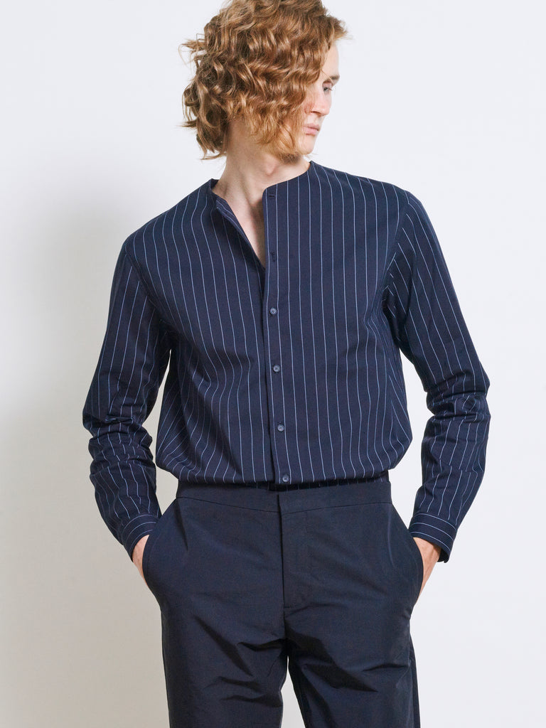 RONAN Cotton Pinstripe Shirt