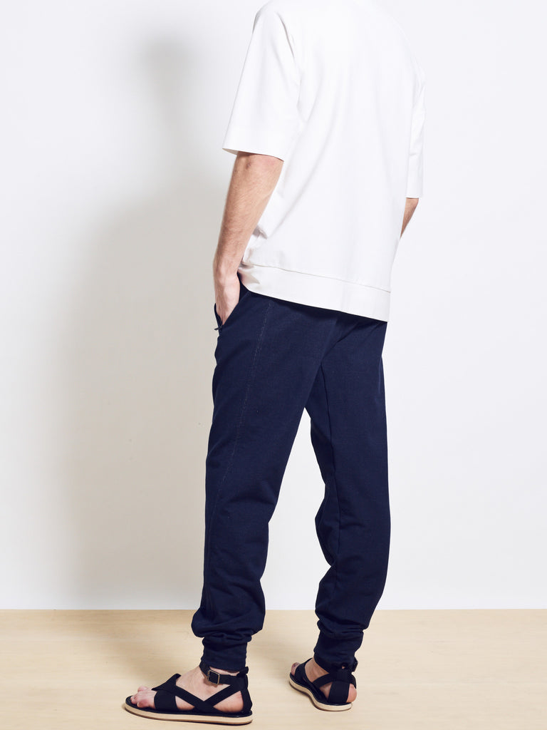 HUGO Loopback Cotton Jersey Sweatpants