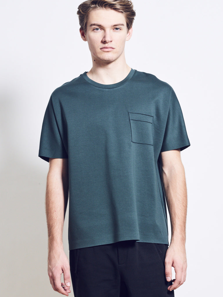 LUKE Cotton Jersey Pocket Tee