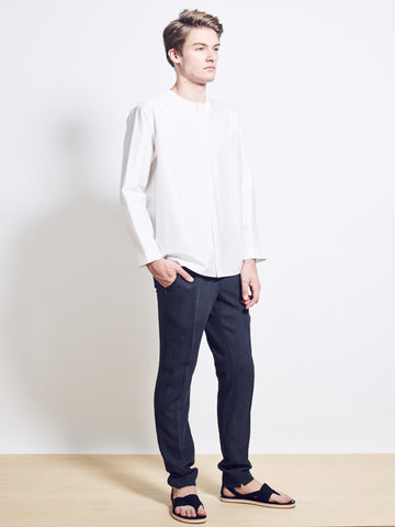 BRADLEY Wool Crepe Slim Trousers