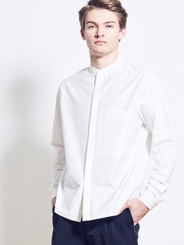 AIDEN Cotton Poplin Crunchy Shirt