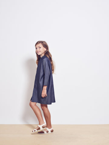 SWINDON Cotton Button-Down Shirt Dress