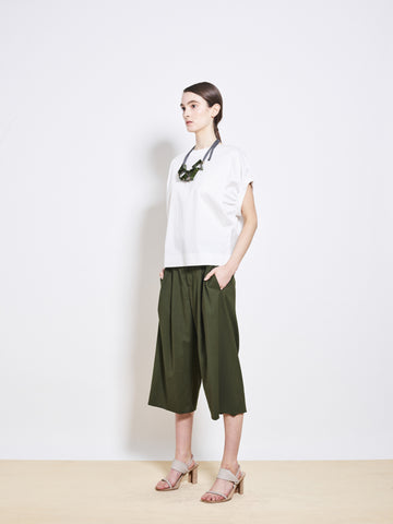 DIONNE Oxford Wool Culottes