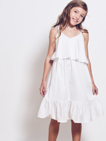 DARIA Stretch Cotton Sundress