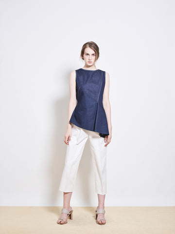 CLIO Japanese Denim Top