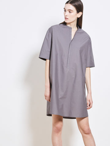 LUCIEN Cotton Poplin Shirt Dress