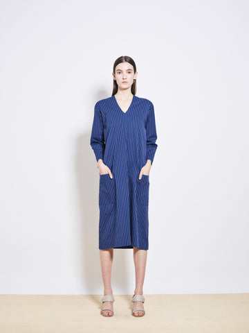 ROWEN Stretch Cotton Tunic Dress