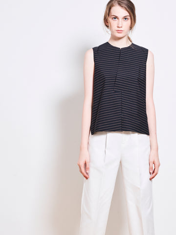 NORI Stretch Cotton Top