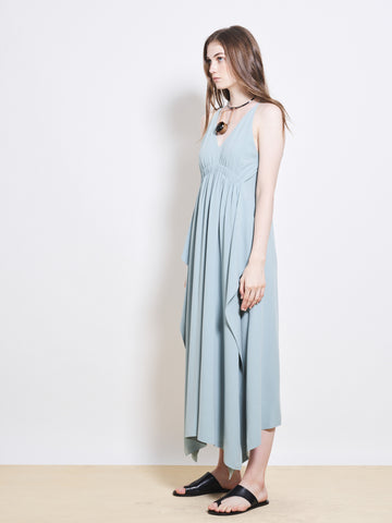 ADELAIDE Crepe Maxi Dress