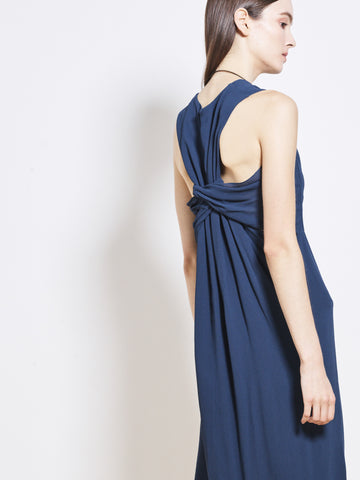 ELVIE Georgette Cinched Back Dress SOLD OUT