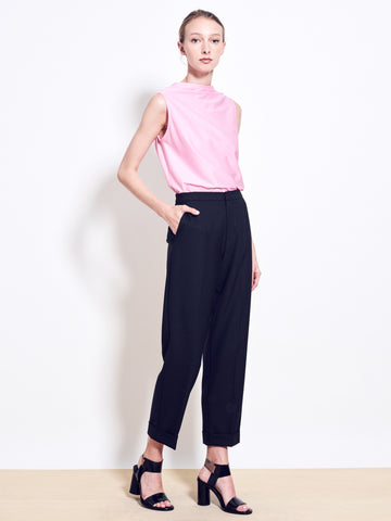 BEAMS Stretch Wool Crop Pants