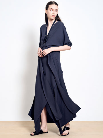 MARGOT Crepe Maxi Dress