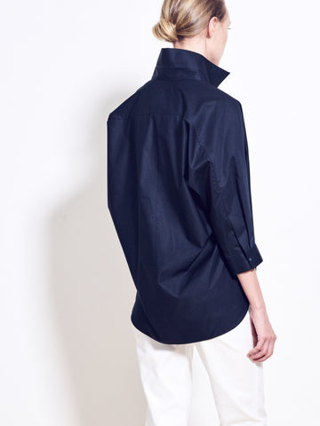 RYLAND Cotton Poplin Shirt