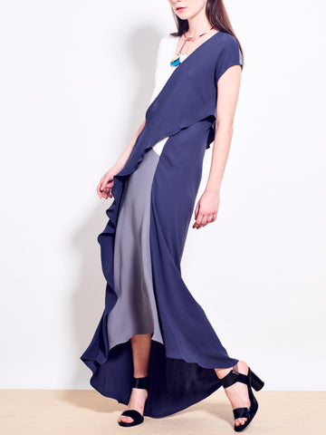 JACQUES Double Georgette Maxi Dress SOLD OUT