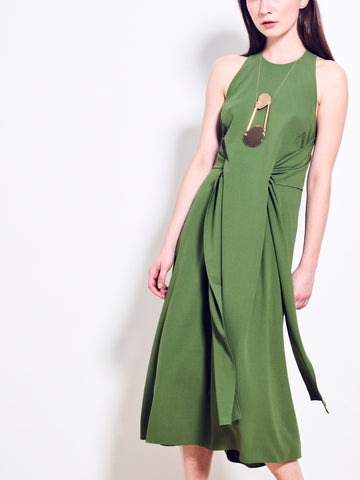 HALSTON Crepe Dress SOLD OUT